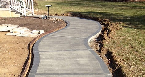Carolinas Concrete Finishers Walkway